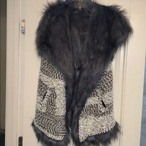 Jessica Simpson Fur Vest
